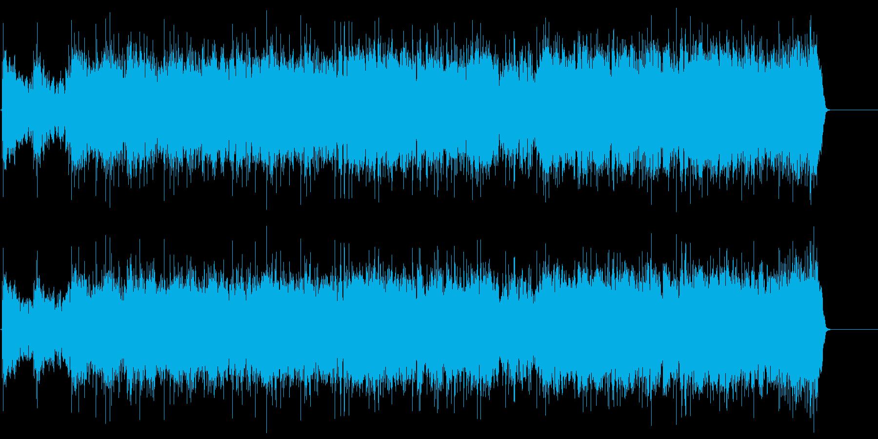 男の哀愁漂うマイナー・ジャズ・ロックの再生済みの波形