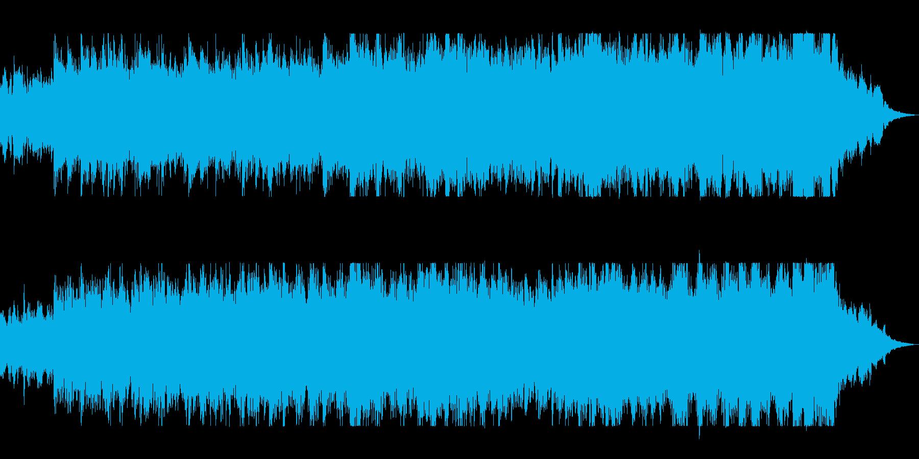 打楽器とファンファーレの迫力オーケストラの再生済みの波形