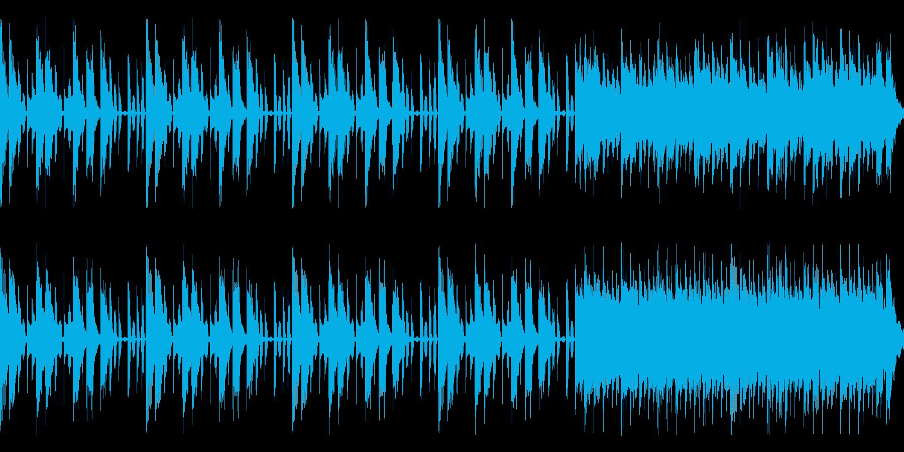 CM,舞台転換など数秒間のBGMにどうぞの再生済みの波形