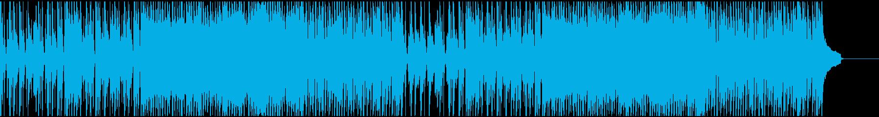 ピアノとストリングスのミュージカルソングの再生済みの波形