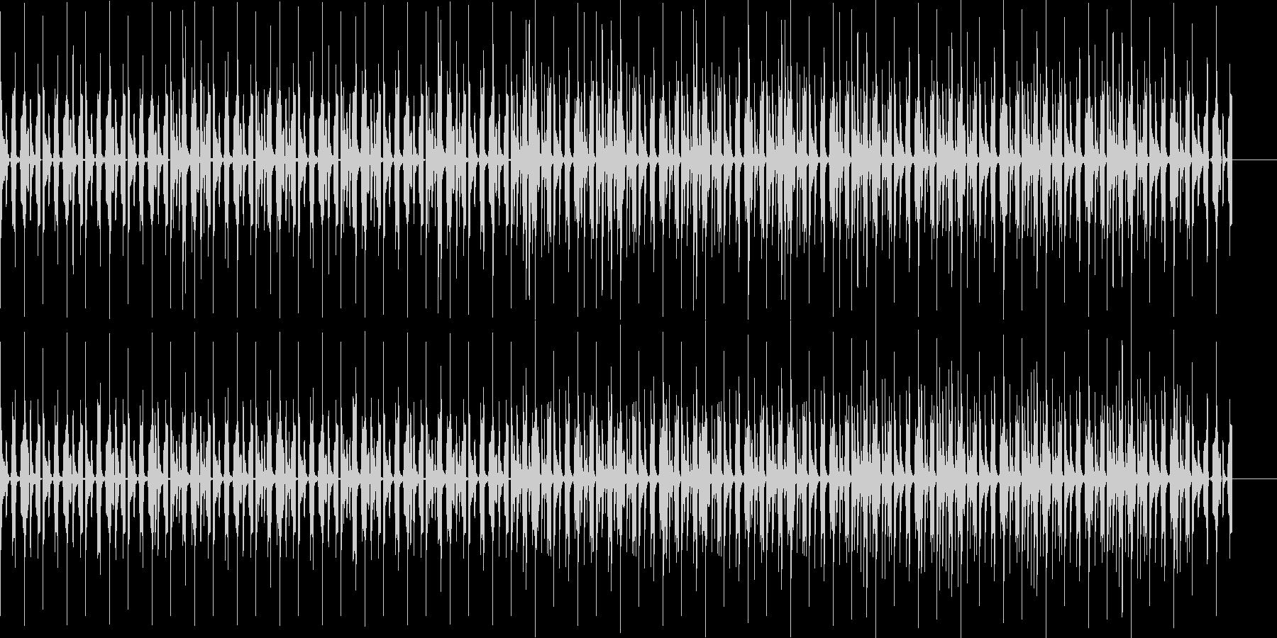 コミカルでオシャレな7拍子の曲ですの未再生の波形