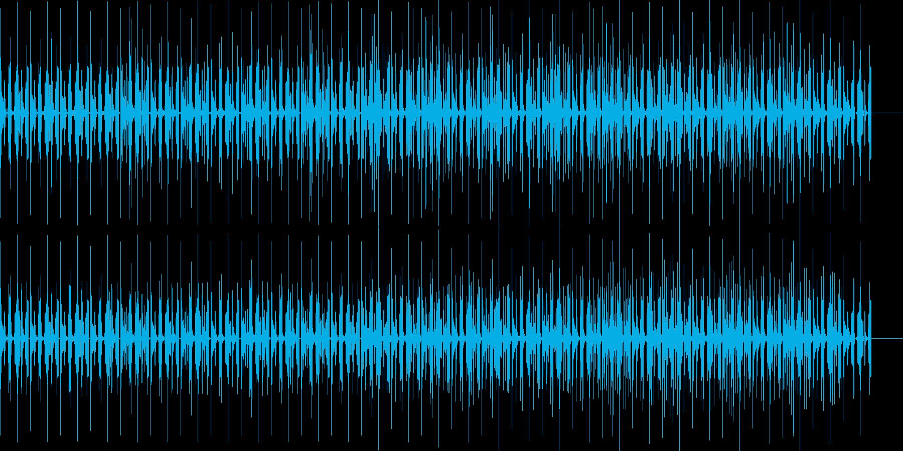 コミカルでオシャレな7拍子の曲ですの再生済みの波形