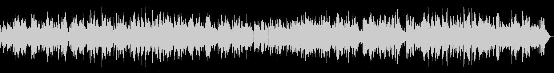穏やかなピアノのバラードジャズの未再生の波形