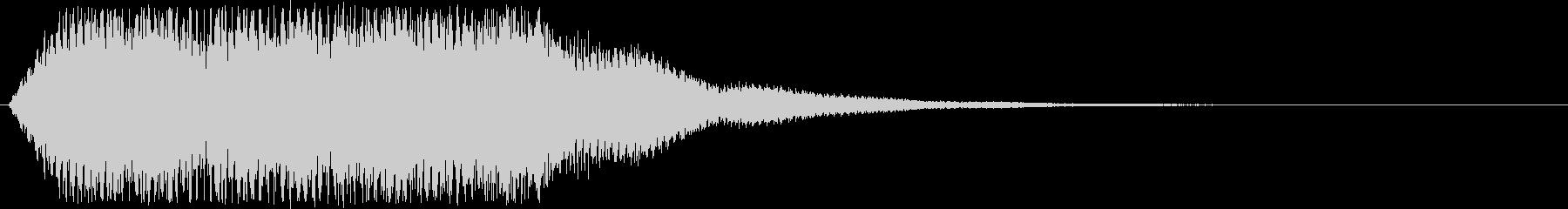 ホラーやサスペンス系の場面などのSEですの未再生の波形