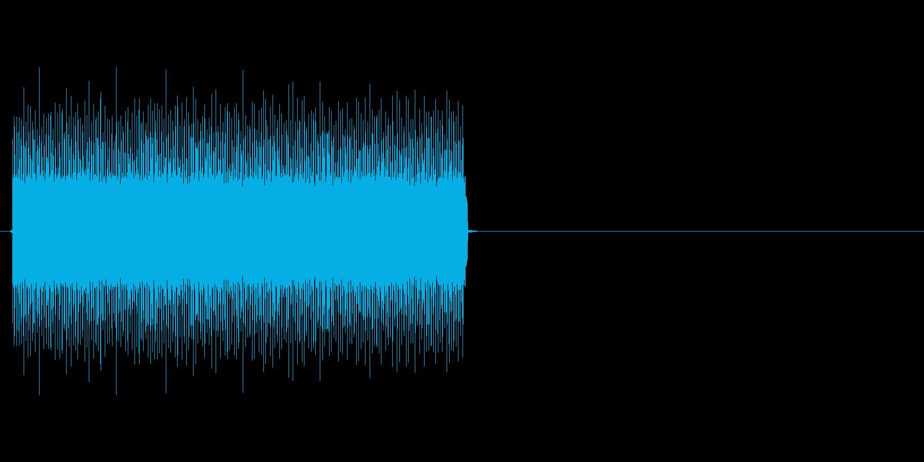 ビーッ(STG、目からビーム)の再生済みの波形