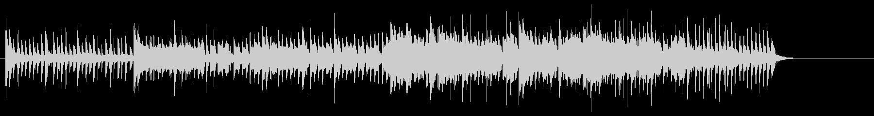 沖縄風のワールドミュージックの未再生の波形