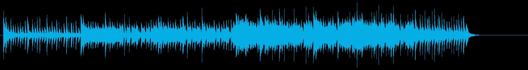 沖縄風のワールドミュージックの再生済みの波形