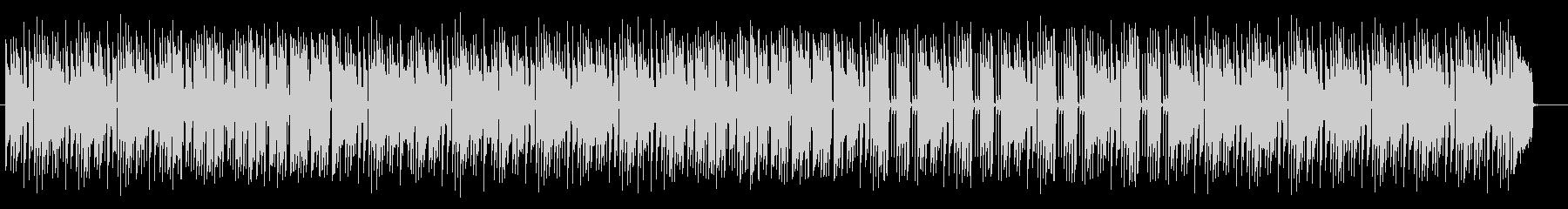 大人な雰囲気のスロージャズバラードの未再生の波形