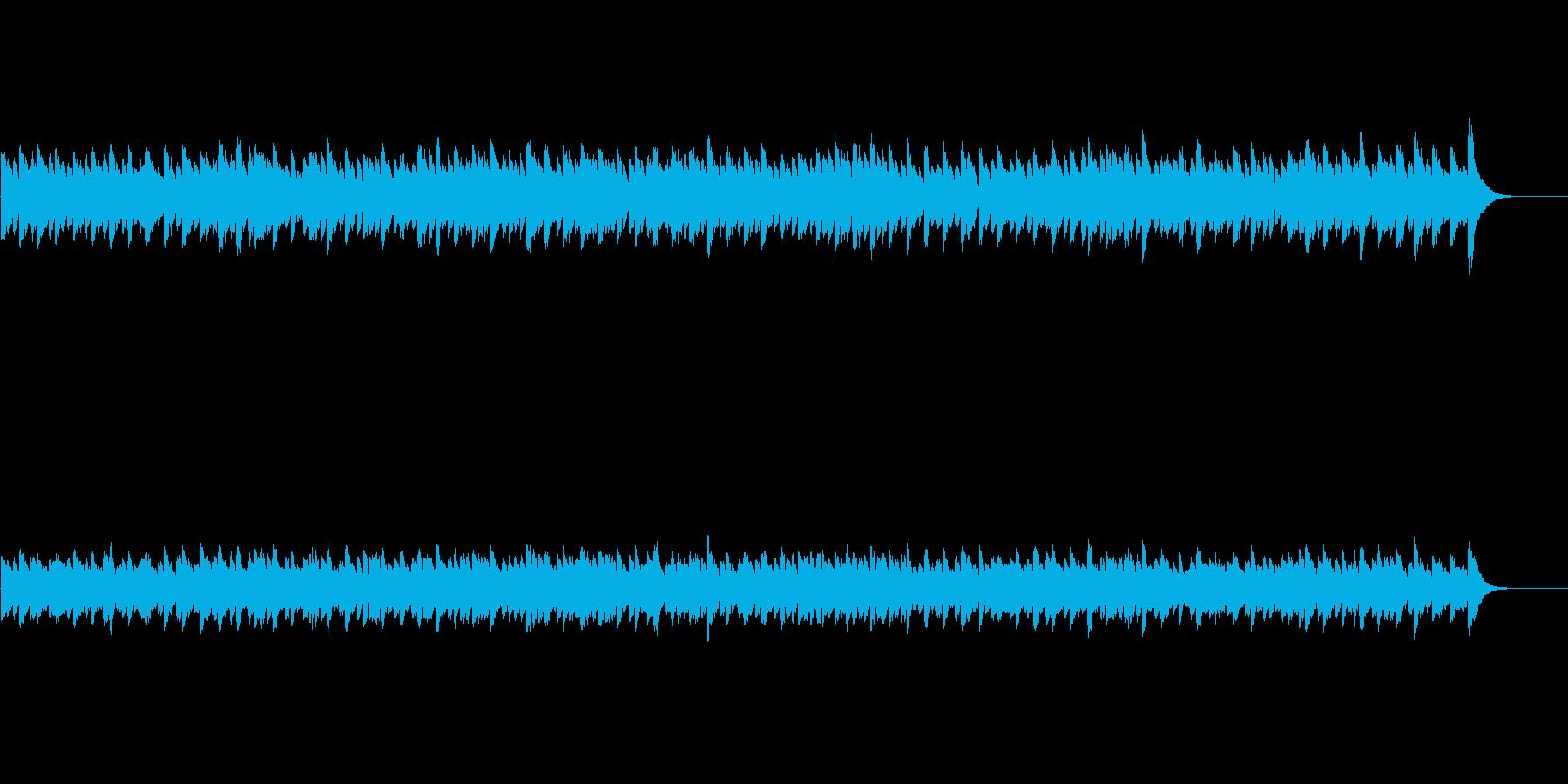 バロック調キラキラヒーリング曲の再生済みの波形