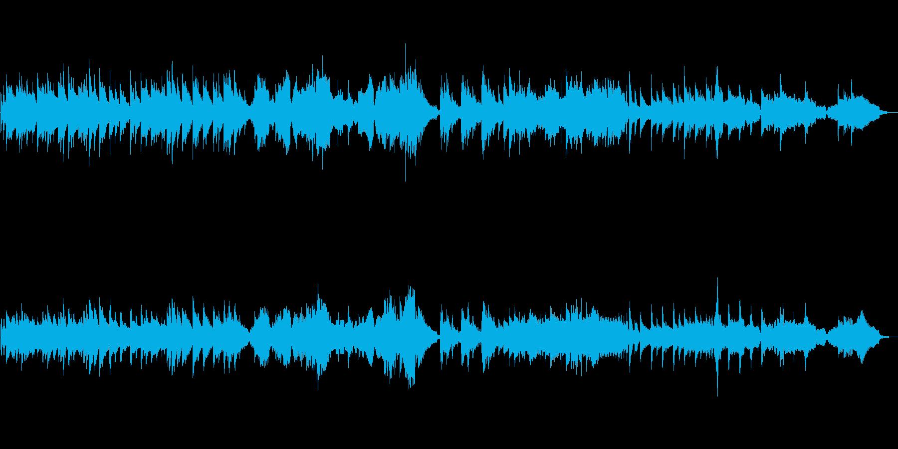 切ない音色のピアノとチェロが美しい作品の再生済みの波形