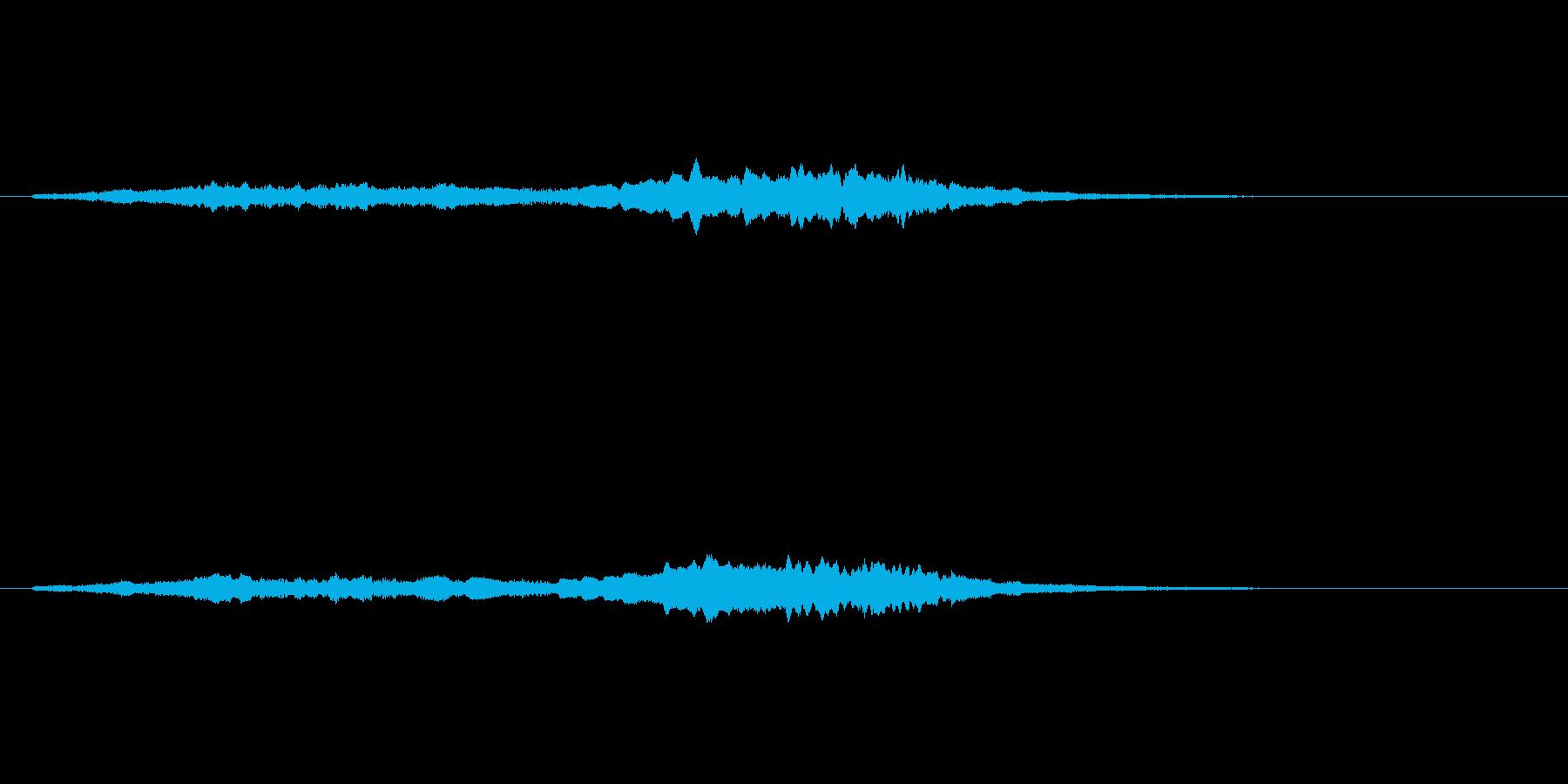 女性コーラスのジングル/アイキャッチの再生済みの波形