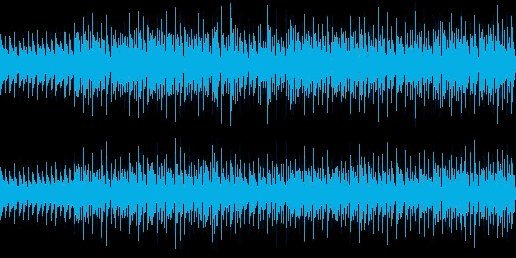 パレードのような曲の再生済みの波形