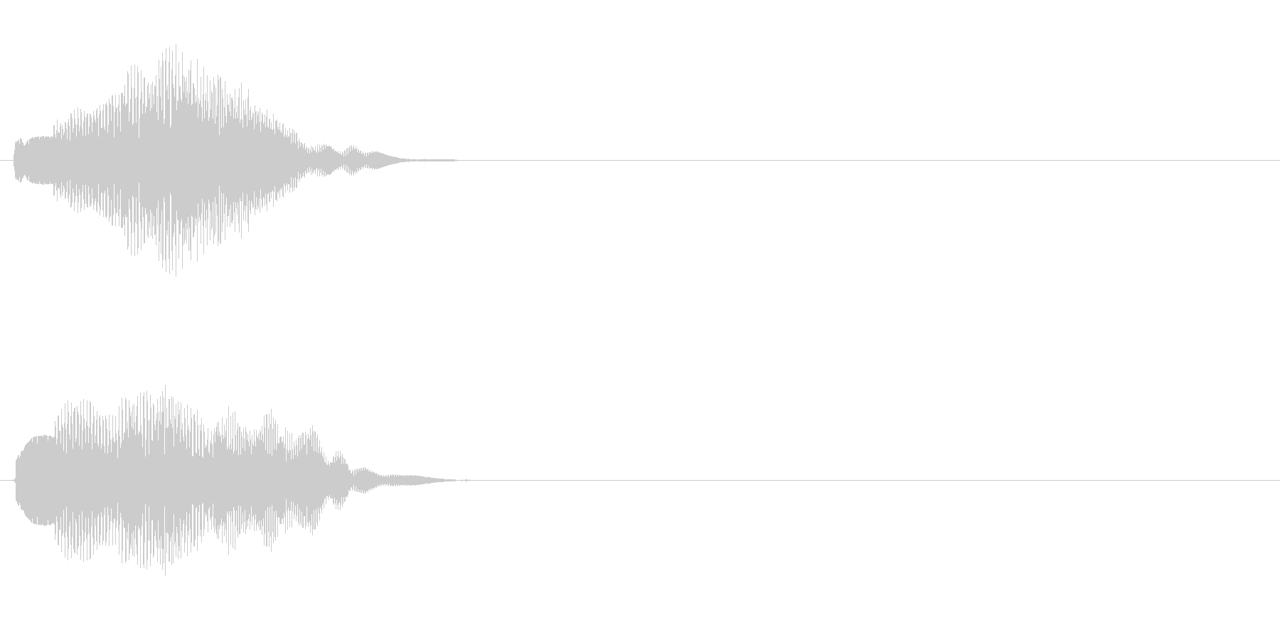 汎用 エレピ系07(大) 決定音の未再生の波形
