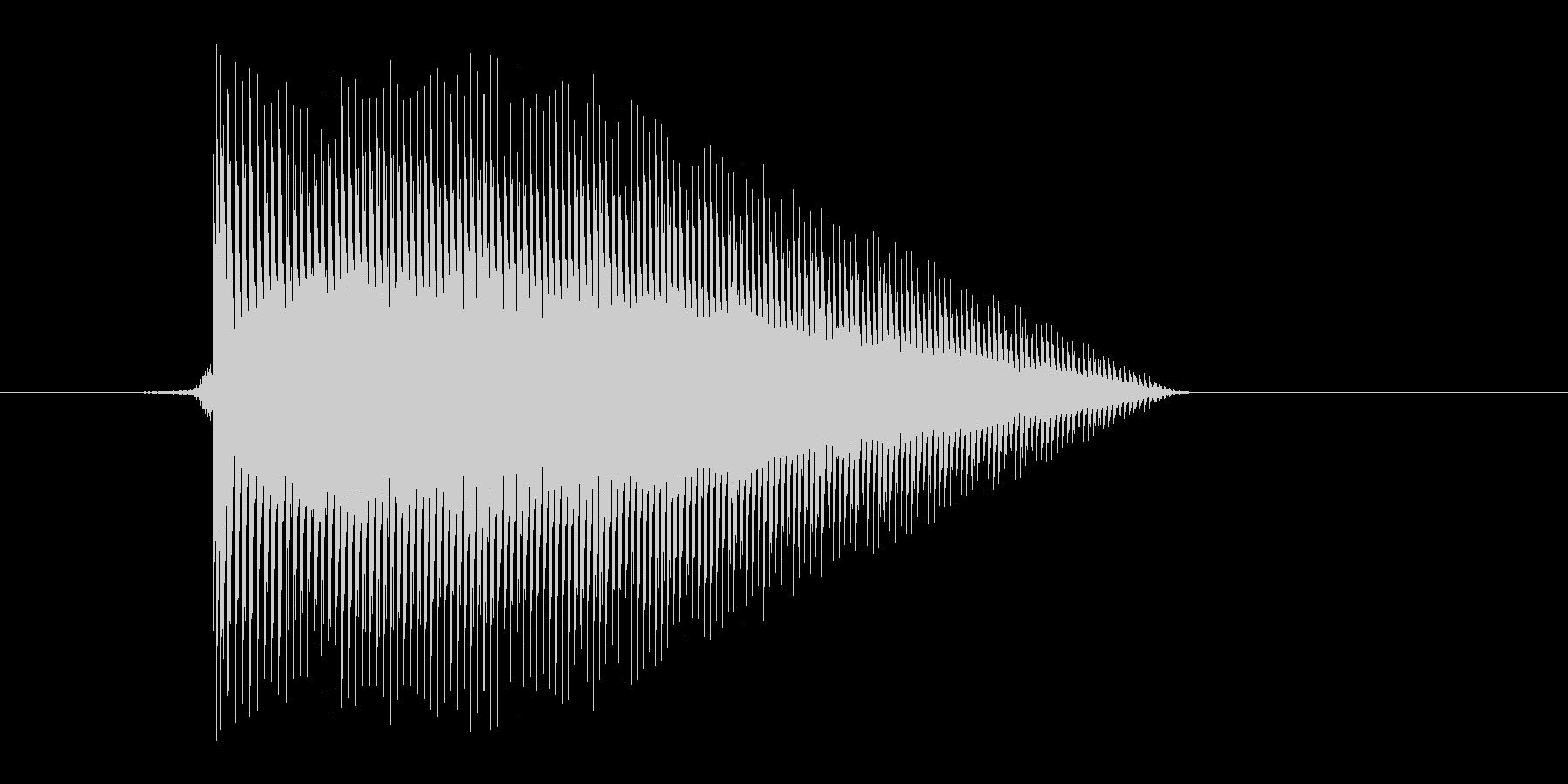 ゲーム(ファミコン風)ジャンプ音_032の未再生の波形
