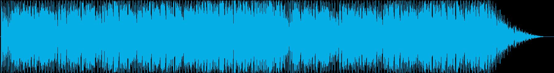 シンセサイザーを使ったコミカルなBGMの再生済みの波形