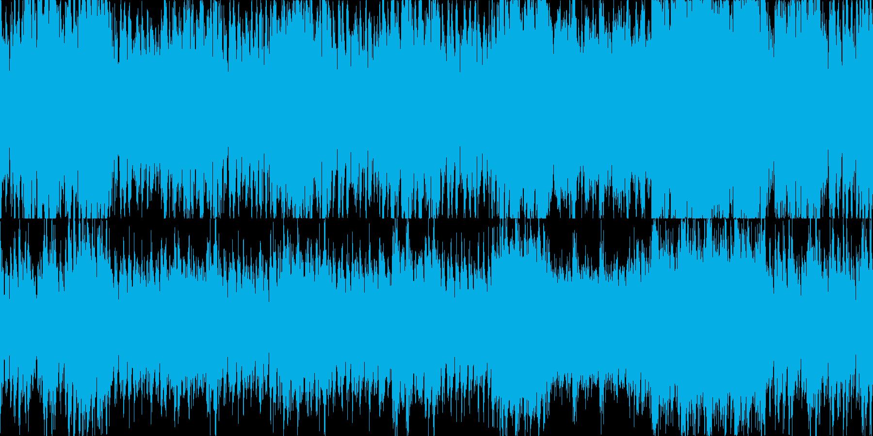 バトル用シンフォニックなループ曲の再生済みの波形