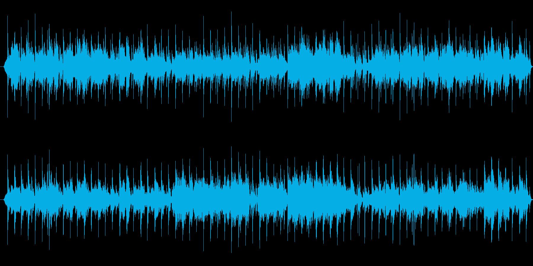 ボサノバアレンジ~愛の夢・アヴェマリア~の再生済みの波形