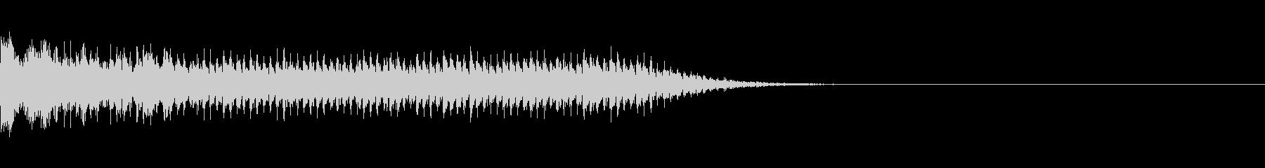 レーザービーム_その3の未再生の波形