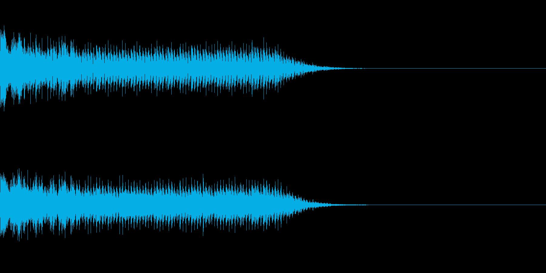レーザービーム_その3の再生済みの波形