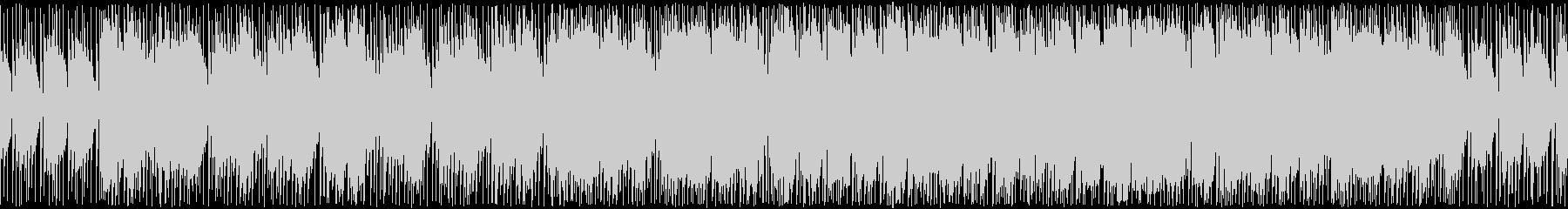 戦車ゲームの戦略フェイズのようなロック曲の未再生の波形