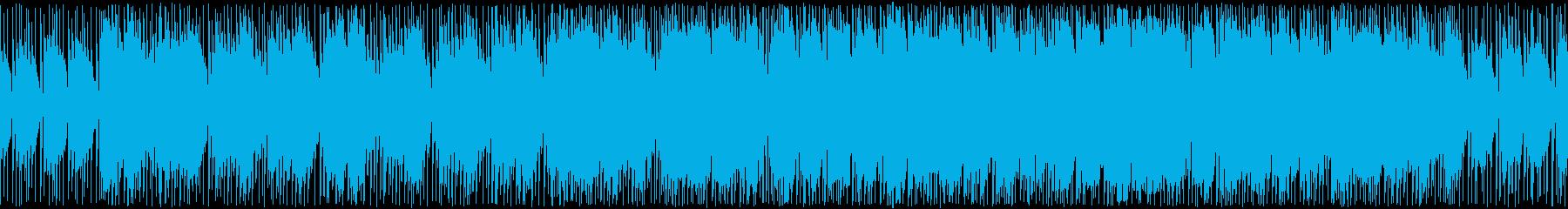戦車ゲームの戦略フェイズのようなロック曲の再生済みの波形