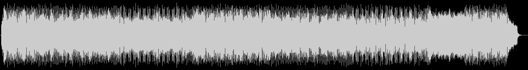 爽やかな響きのピアノポップスの未再生の波形