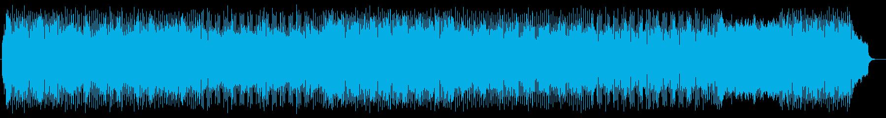爽やかな響きのピアノポップスの再生済みの波形