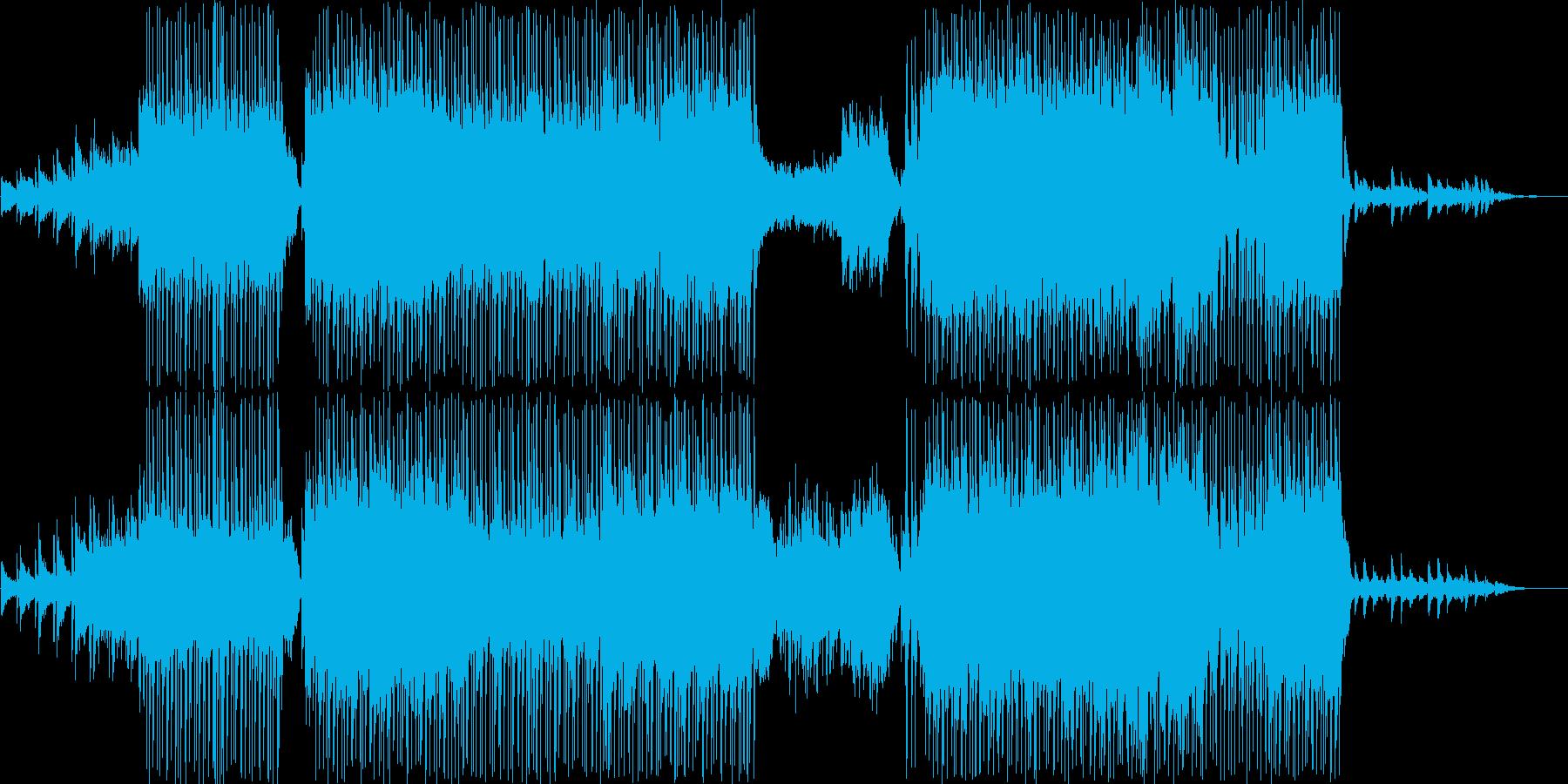 16ビートに乗せた切ないメロディーの再生済みの波形