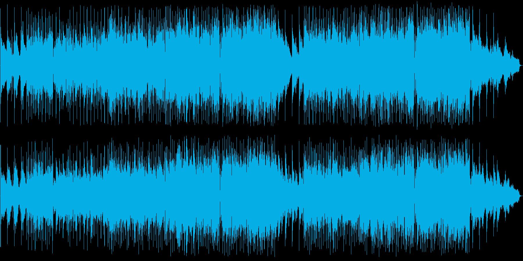 優しく懐かしい感じのポップバラードの再生済みの波形