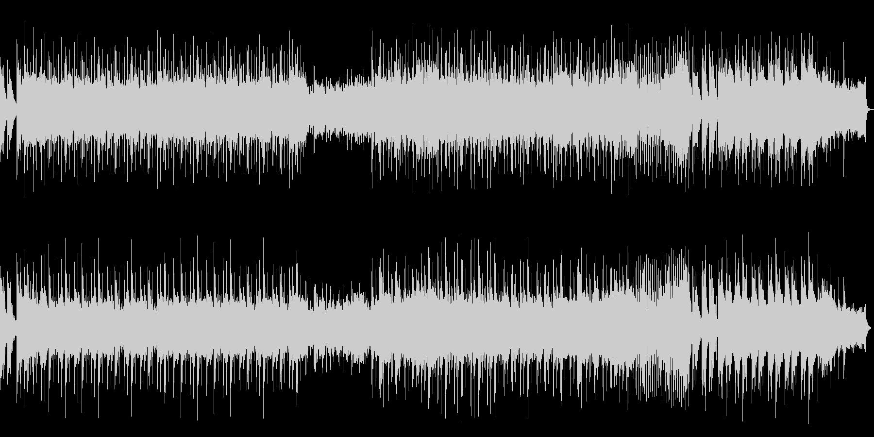 高音質♪琴和風ポップの未再生の波形