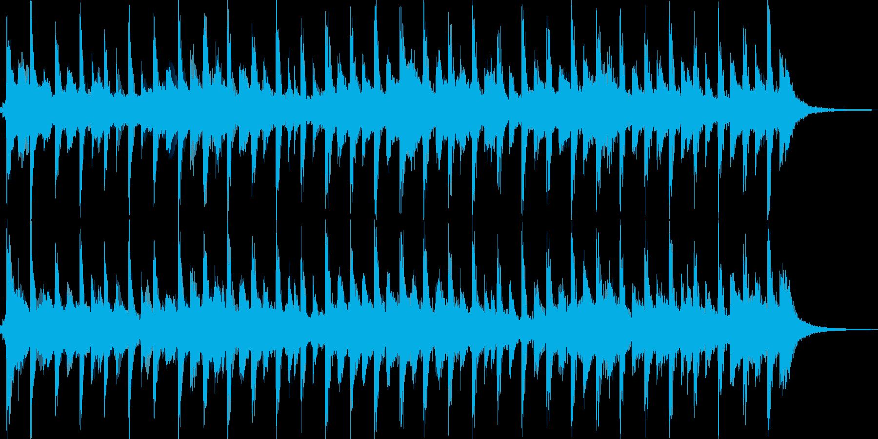 爽やかでキラキラしたポップジングルの再生済みの波形