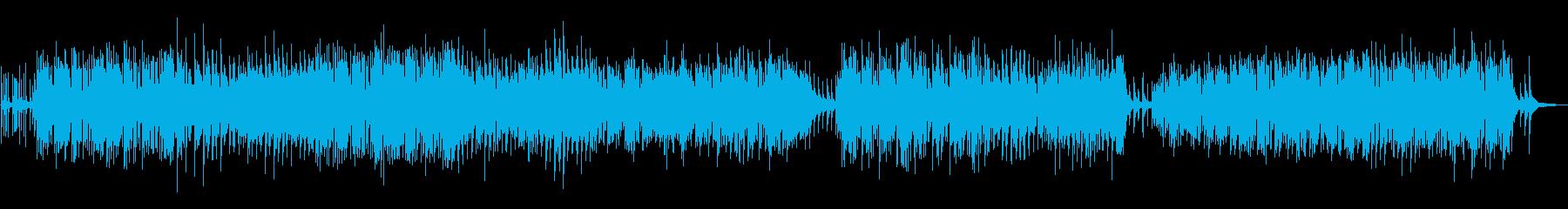 民族音楽 中世ヨーロッパの街の再生済みの波形