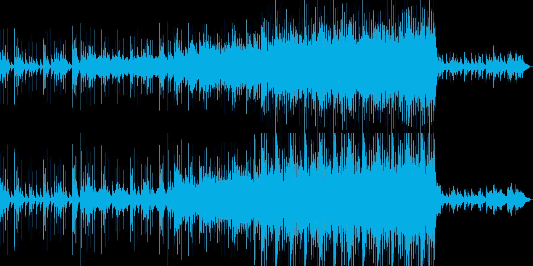 沖縄 琴 優しい曲の再生済みの波形