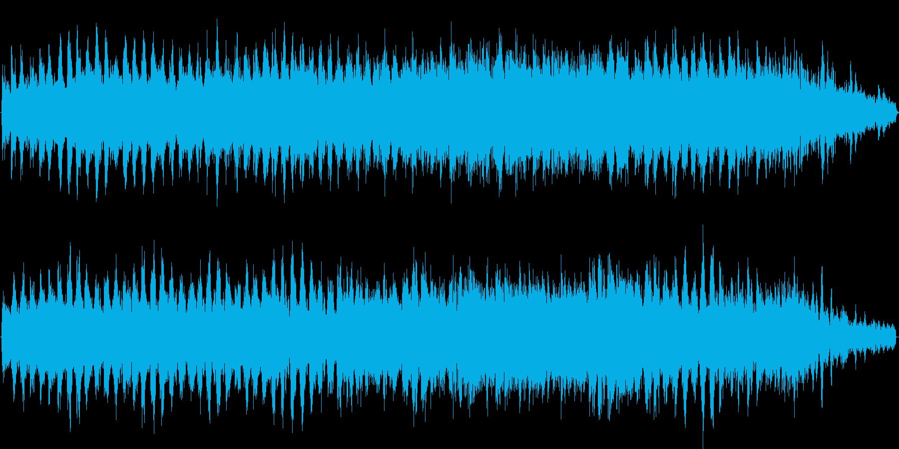 パッドとベルを使って水面のようなキラキ…の再生済みの波形