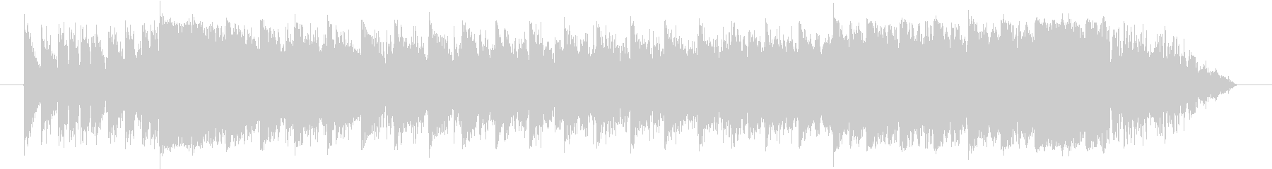 EDM ジングル CM スポット 15秒の未再生の波形