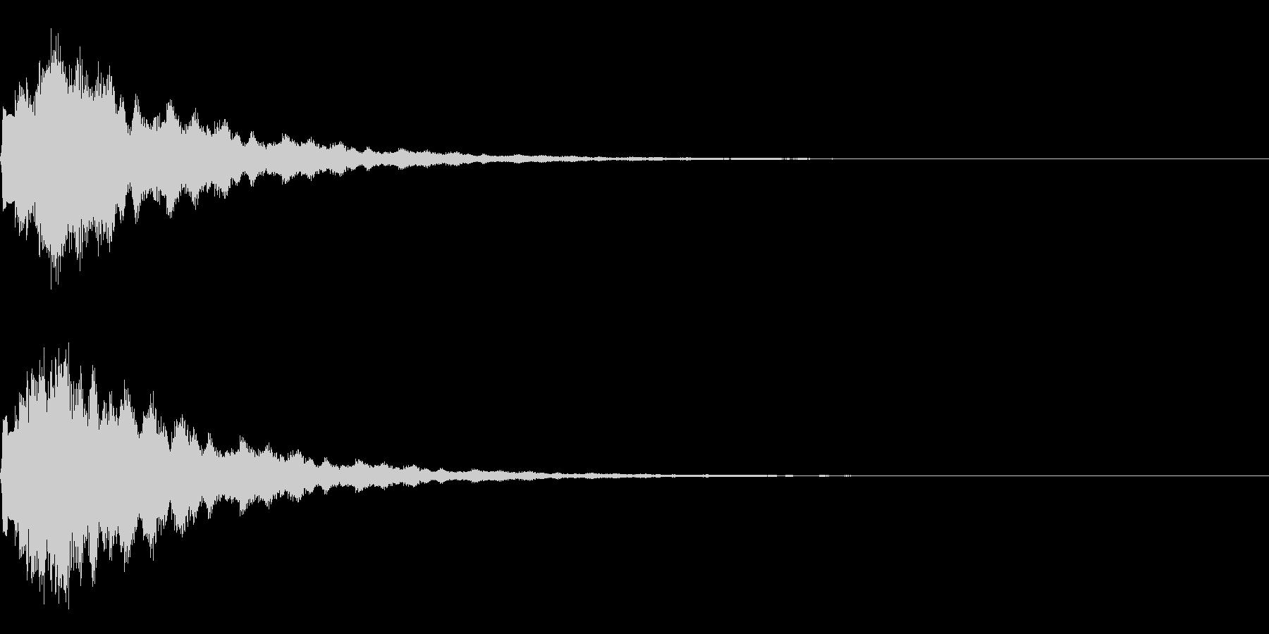 サウンドロゴ13(ベル系)の未再生の波形
