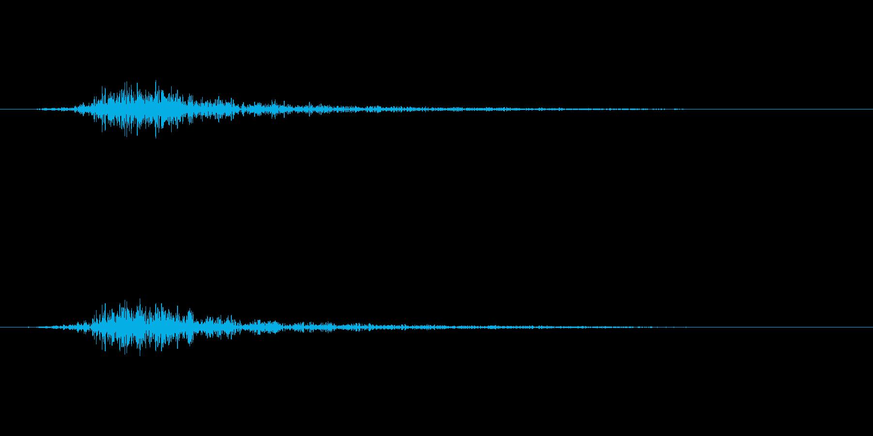 インパクト、ホラーの再生済みの波形