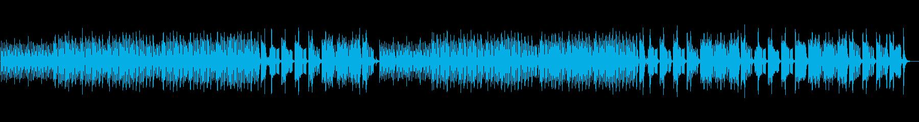 アップテンポでかわいいドタバタした曲ですの再生済みの波形