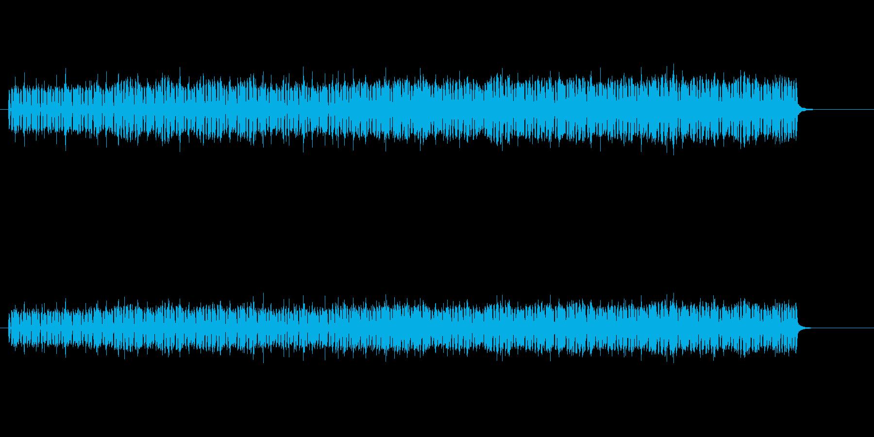 緊迫感のあるエレクトリック・ロックの再生済みの波形