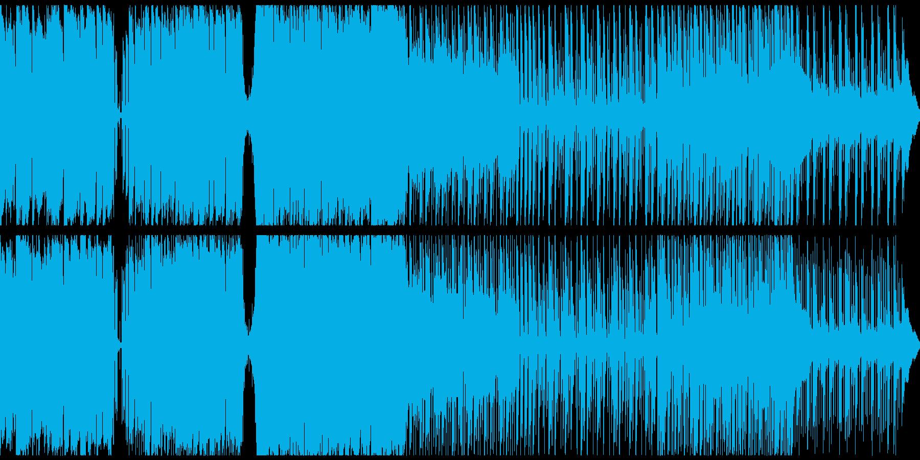 アコギ主体、軽快で爽やかなエレクトロニカの再生済みの波形