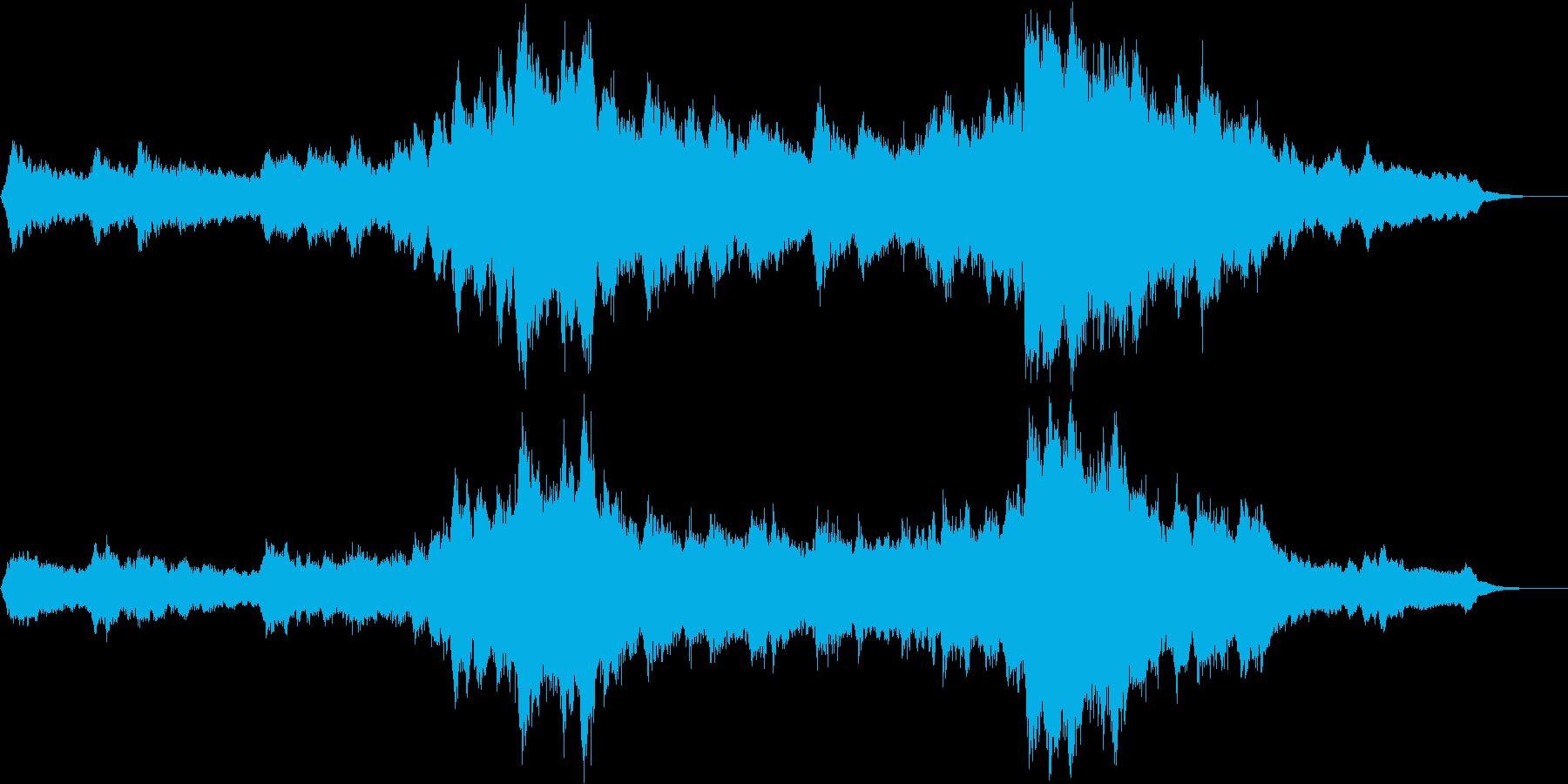 のどかなオーケストラ 田舎 映画 の再生済みの波形