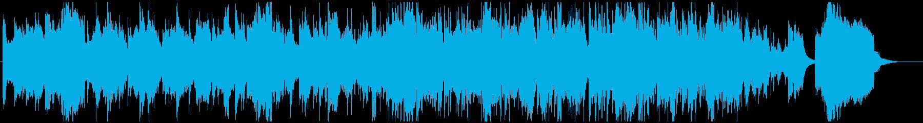 スムースジャズ・バラード、大人でおしゃれの再生済みの波形