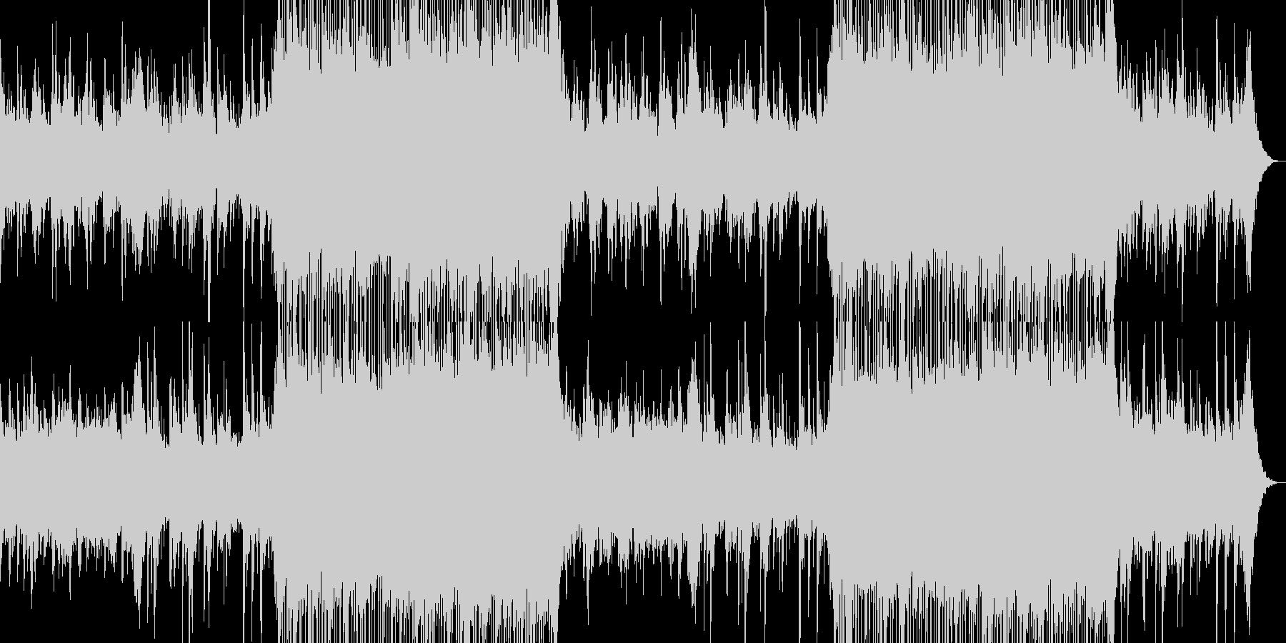 懐かしく切ないチルアウトミュージック。の未再生の波形