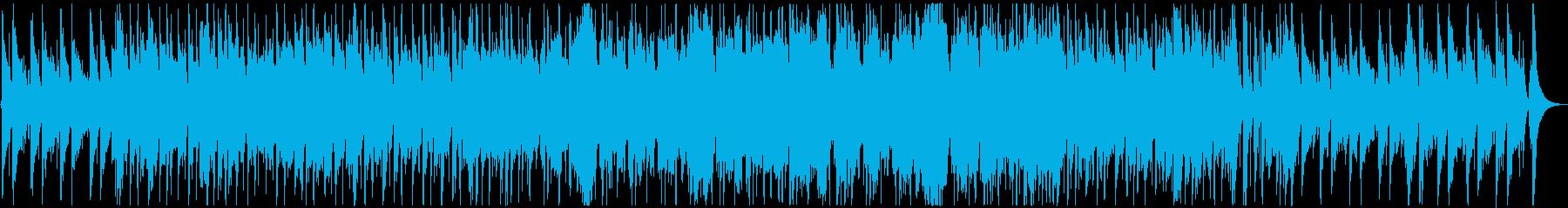 ニュース映像に合うオーケストラの再生済みの波形