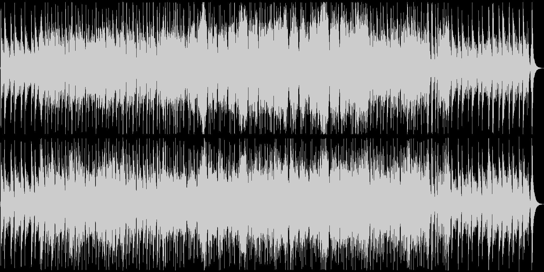 ニュース映像に合うオーケストラの未再生の波形