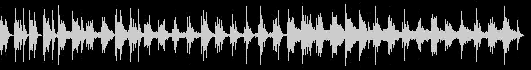 ピッチカートとフルートのこっそり曲の未再生の波形