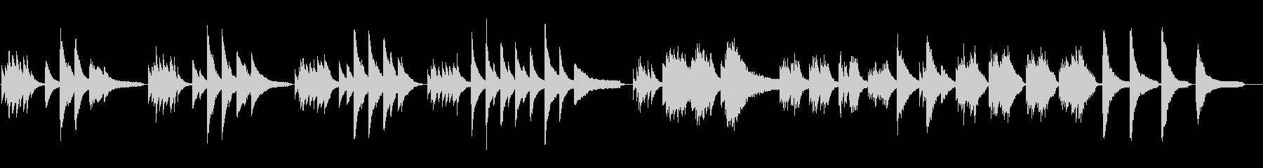 ピアノソロの鬱な曲想_filterなしの未再生の波形