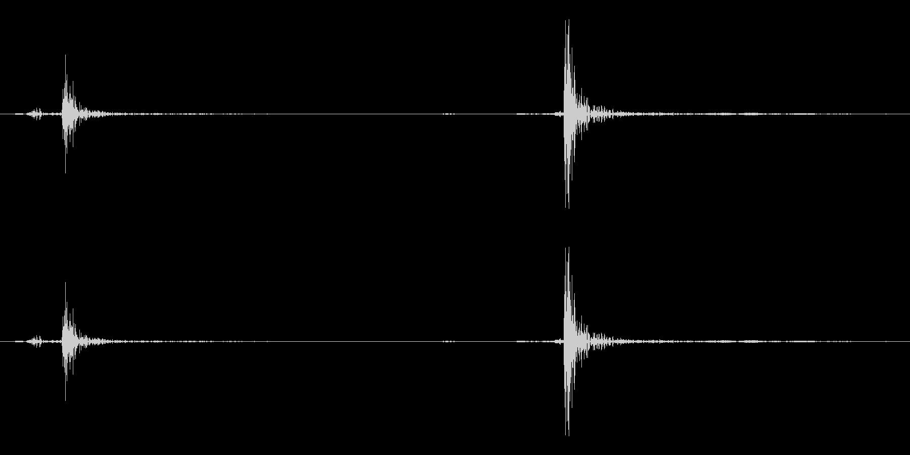 カーソル移動音4の未再生の波形