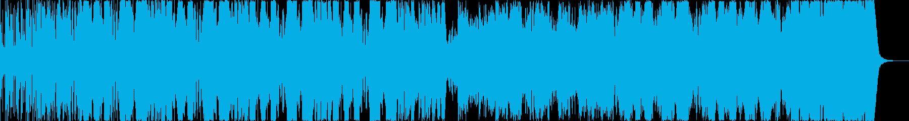 巨大ロボが、ノッシリと歩くような曲ですの再生済みの波形