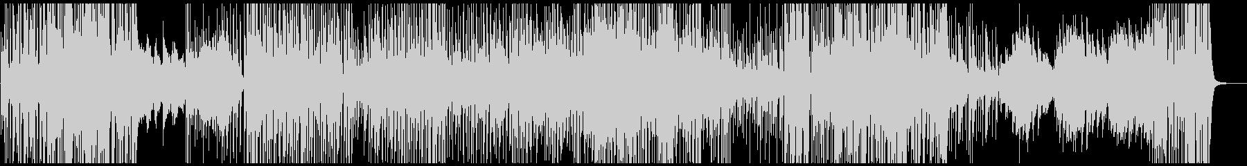 映像BGM 荒ぶるジャズロックピアノの未再生の波形